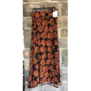New LuLaRoe floral maxi skirt